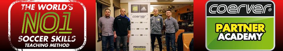Coerver Coaching partnerem Akademii Piłki Nożnej Talent